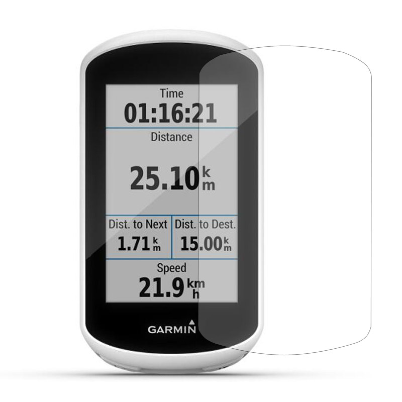 3pc PET Clear Screen Protector Cover Protective Film Guard For Garmin Edge Explore Bike GPS Computer Handheld Tracker Navigator