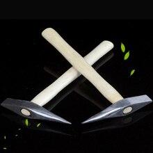 1 шт. Высокоуглеродистая сталь молотковая ручка сварочный аппарат сварочный шлаковый молоток стук ржавчины ручной инструмент ручной не болезненный