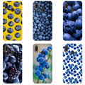 82H Blueberry Blues Мягкий силиконовый чехол из ТПУ для huawei Nova 3 3i p smart