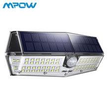 66 светодиодный солнечного света MPOW CD174 движения Сенсор 3 режима освещения Мощный IP66 Водонепроницаемый яркий свет стены лампе Solaire Exterieur