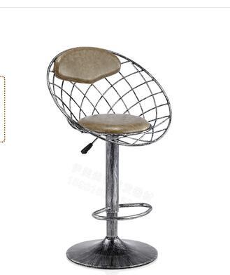Купить с кэшбэком 0010 Iron bar chair. High stool. ..Vintage hairdressing stool..2212