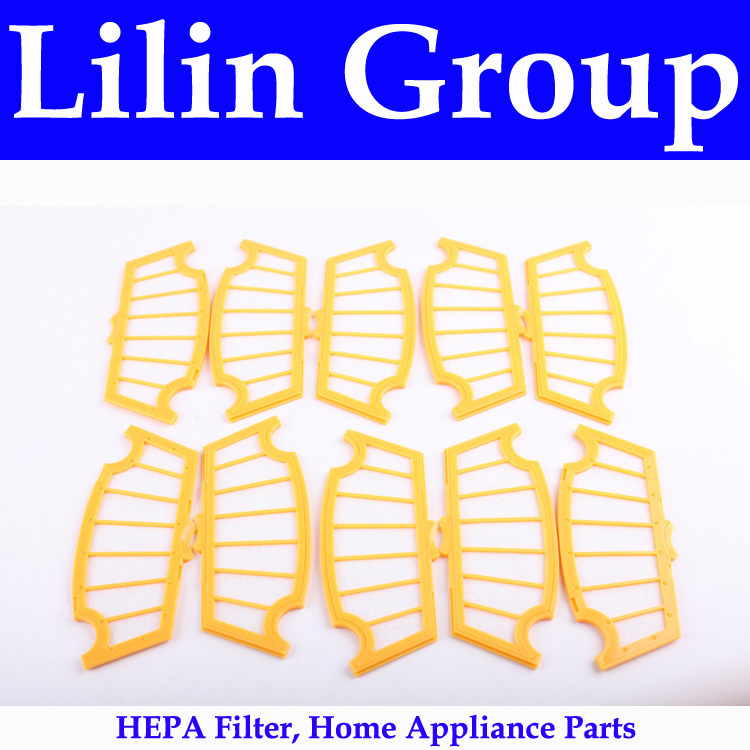 (For A320,A325,A335,A336,A337,A338) HEPA Filter for Robot Vacuum Cleaner, 10pcs/ pack, Home Appliance Parts