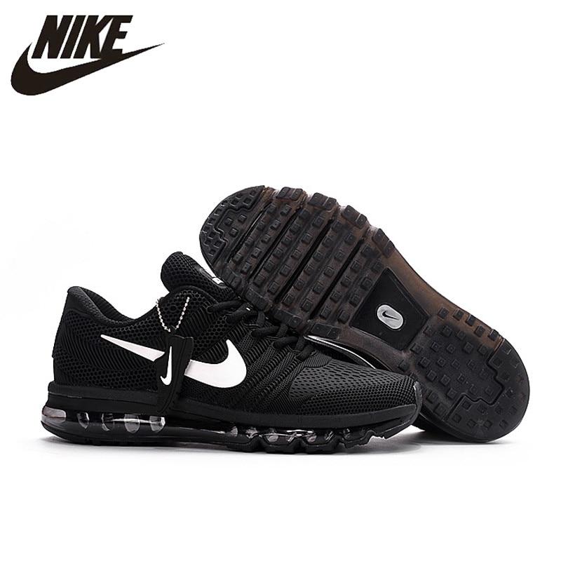 meet 3003e c60f8 Hot Sale NIKE Air MAX 2017 Nike Running shoes full palm nano Disu  technology Sports Men shoes hot Sneakers 40-46