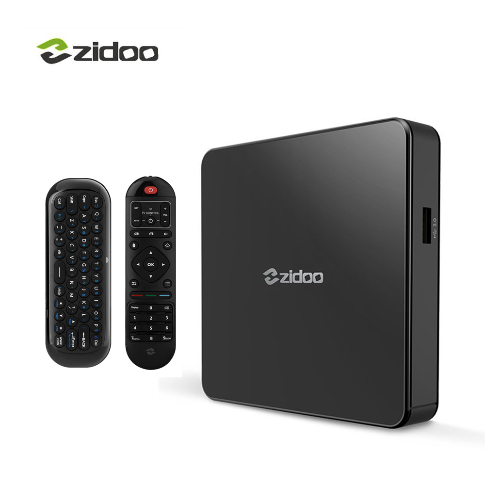 Zidoo X7 TV Box 4K Android 7.1  Bluetooth4.1 4K*60fps  IPTV Media Player Quad-core 2GB DDR3+8GB eMMC WIFI HDMI Smart Set-top Box android smart tv box mini pc quad core intel atom z3735f 2 32gb iptv android 4 4 windows10 hdmi set top box stick bluetooth 4 0