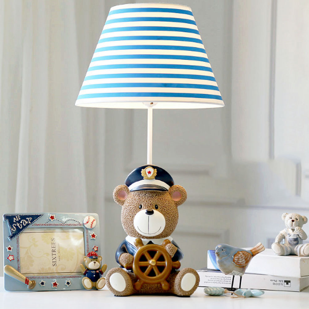 Cubs captain cartoon table lamp bed bedside light creative cartoon cubs captain cartoon table lamp bed bedside light creative cartoon child cute men and women gift in desk lamps from lights lighting on aliexpress geotapseo Gallery