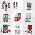 56 new Japanese cotton terry socks female cartoon straight thick warm brushed Christmas socks AB Christmas calcetines socks