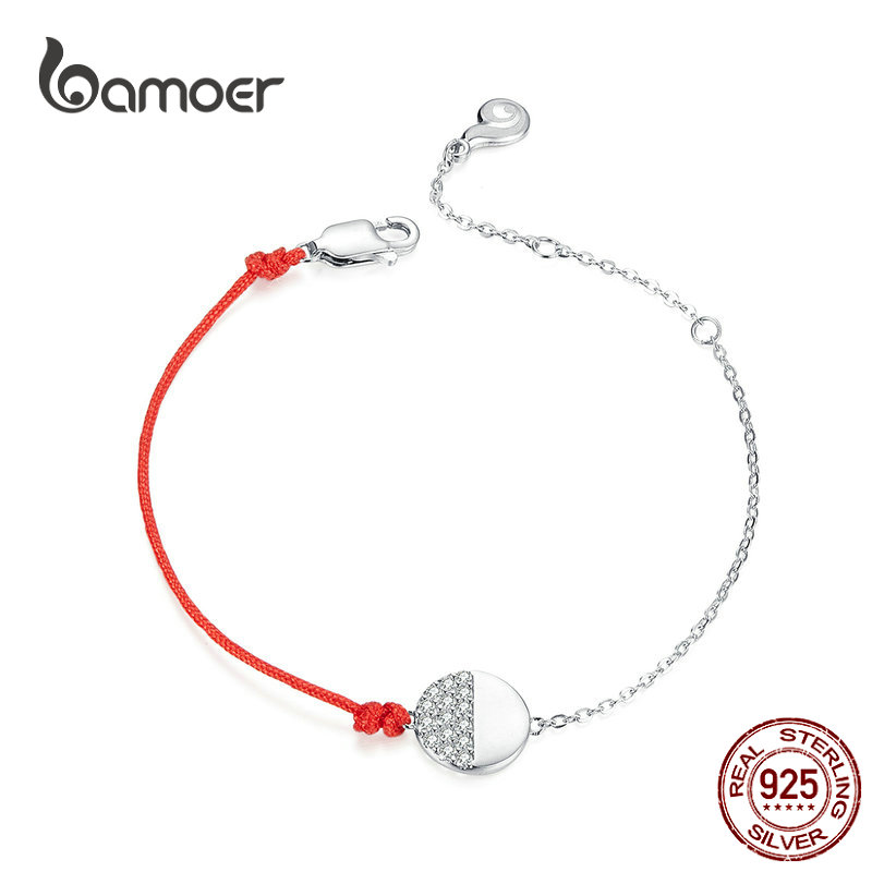925 Sterling Silver Red and Clear Cubic Zirconia Pendant
