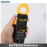Auto Ranging AC/DC Clamp Tester Meter CENTER222