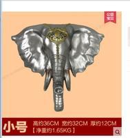 Southeast Asian styl Europejski kreatywnych retro słoń szef wisiorek salon ścienne ścienne sklep bar nawy zwierząt dekoracji