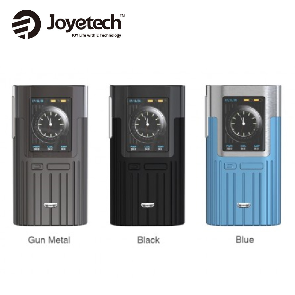 Original Joyetech ESPION TC Box MOD 200 Watt mit 1,45 zoll TFT Farbe Display Keine 18650 Batterie für ProCore X Zerstäuber Ecig Vape Mod