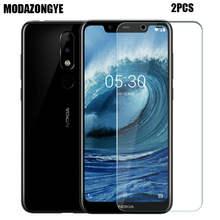 Protetor de tela Para Nokia 5.1 Mais Vidro Nokia 5.1 Além de Película Protetora de Vidro Temperado Para Nokia 5.1 Mais TA- 1109 5.86 polegada