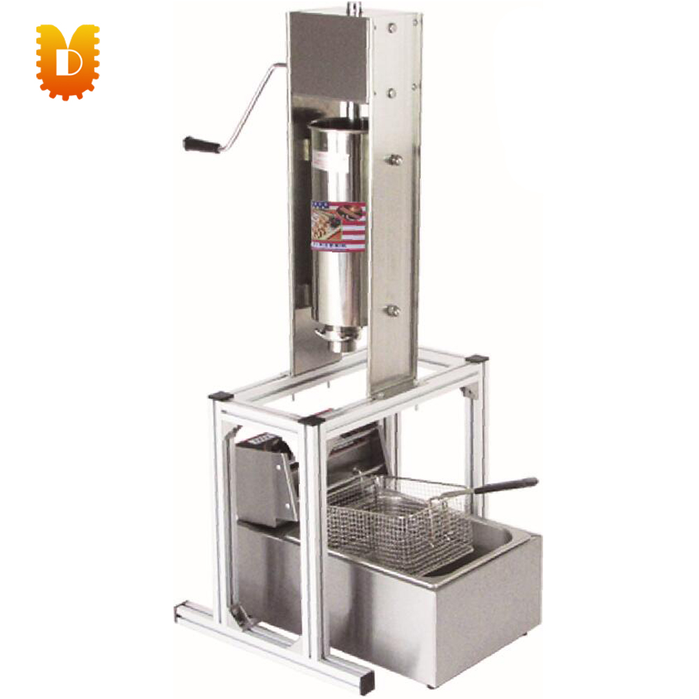 5L with fryer churros making machine spain churros maker salter air fryer home high capacity multifunction no smoke chicken wings fries machine intelligent electric fryer