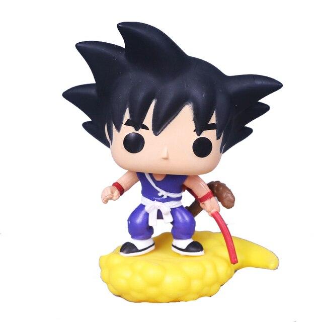 FUNKO pop Anime Dragon Ball Z GOKU & VOADOR NIMBUS action figure brinquedos Coleção modelo para o aniversário das crianças presente