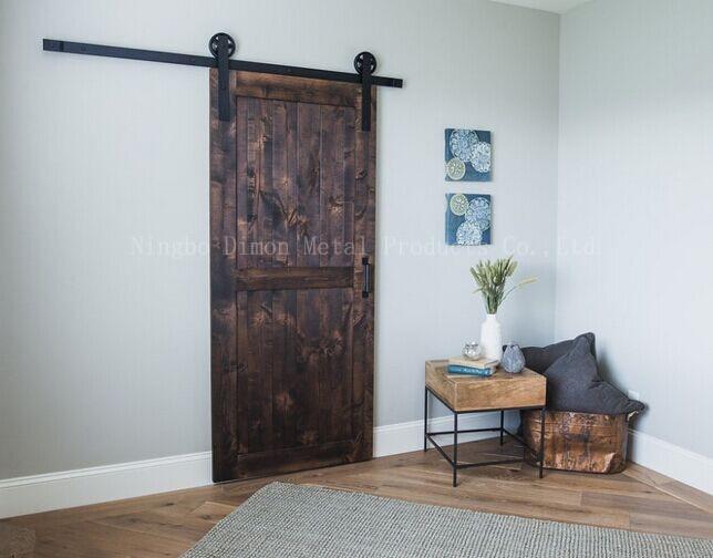 Купить с кэшбэком Free shipping Dimon hot sell heavy wooden sliding door hardware DM-SDU 7210 without sliding track