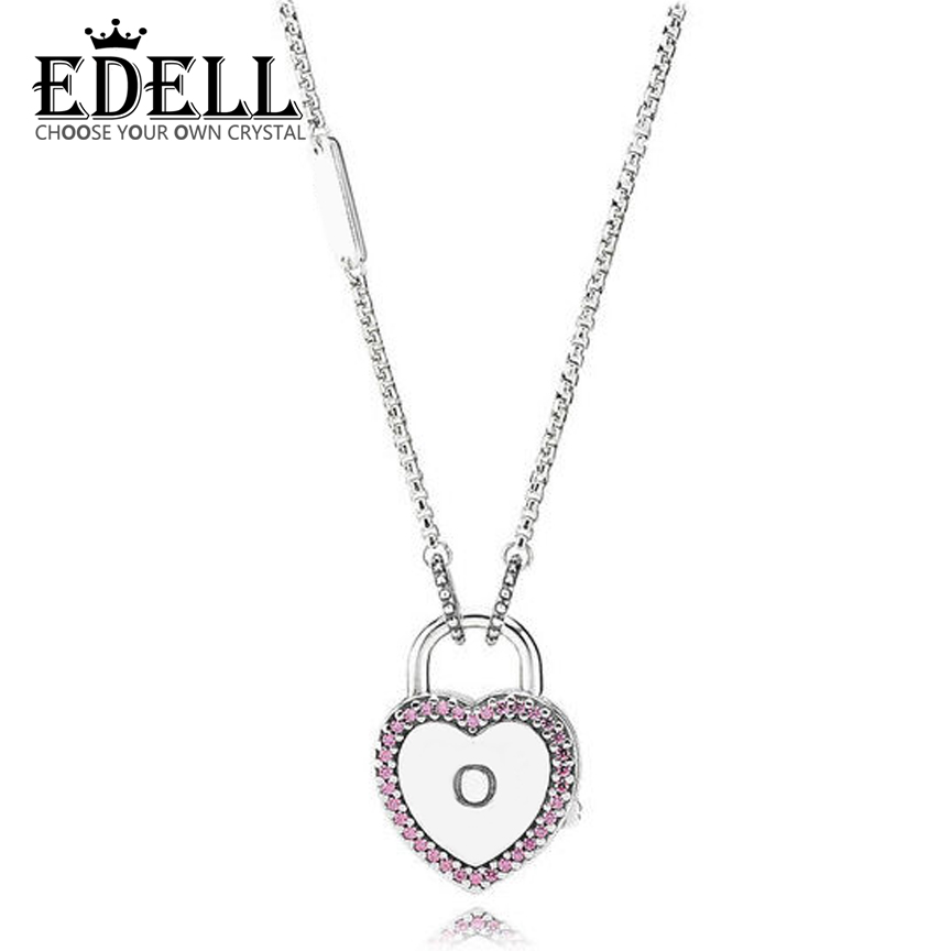 EDELL 925 sterling silver 2018 Valentine's new heart