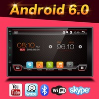 Groothandel! 2 Din 7 Inch Android 6.0 Auto Dvd-speler Voor Universele auto radio gps audio Wifi GPS Radio