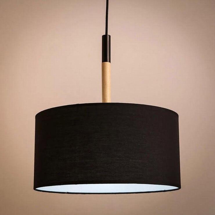 tienda online moderno luces colgantes led montaje para comedor negro blanco pantalla de madera industrial lmparas de techo para la cocina dormitorio lighti