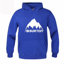 Burton Mens Hoodies Warm Autumn Winter Hooded Pullover Male Young People Clothes Skateboard Hip Hop Tracksuit Sweatshirt RAW0467