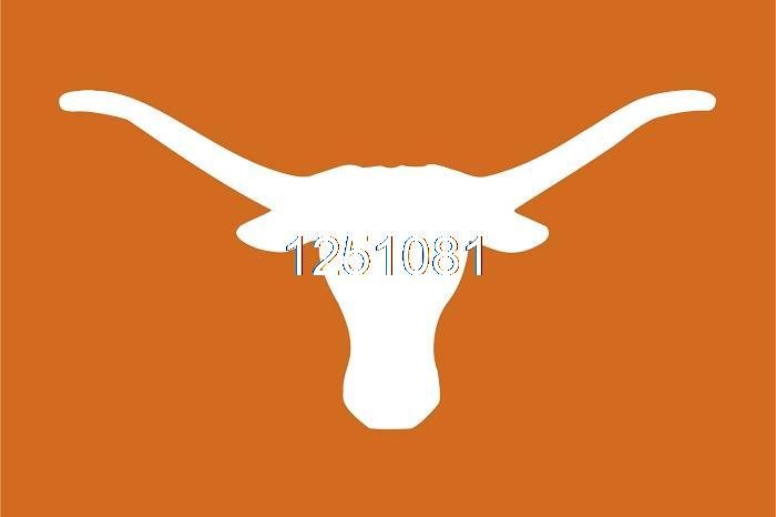 <font><b>Texas</b></font> Longhorns Flag 3ft x 5ft Polyester NCAA Banner <font><b>Texas</b></font> Longhorns <font><b>Flying</b></font> Size No.4 144* 96cm QingQing Flag
