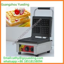 stainless steel waffle maker cast iron mould stroopwafel rectangle waffle baker