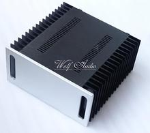4320A All-aluminum Amplifier Chassis DIY Large Case Audio Amplifier Enclosure 430MM X 200MM X 418MM