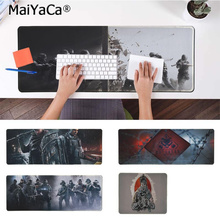 MaiYaCa Personalized Cool Fashion RAINBOW SIX Beautiful Anime Mouse Mat Rubber PC Computer Gaming mousepad