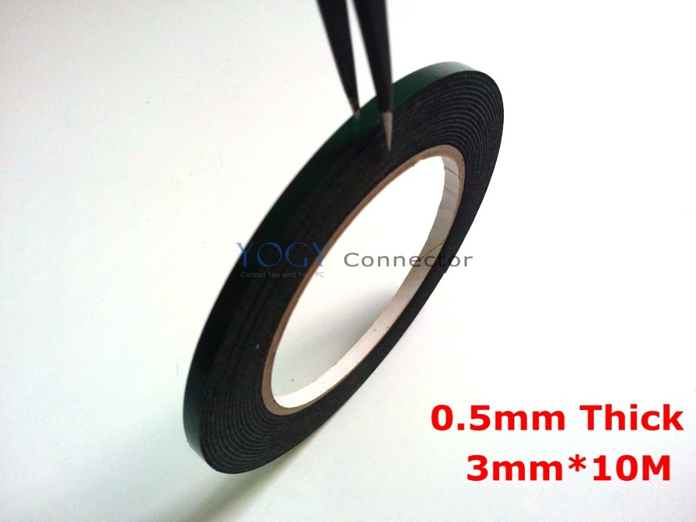 Double Side Tape Sticker For Adhesive Cellphone Touch Screen 10M X 4MM X 0.5MM
