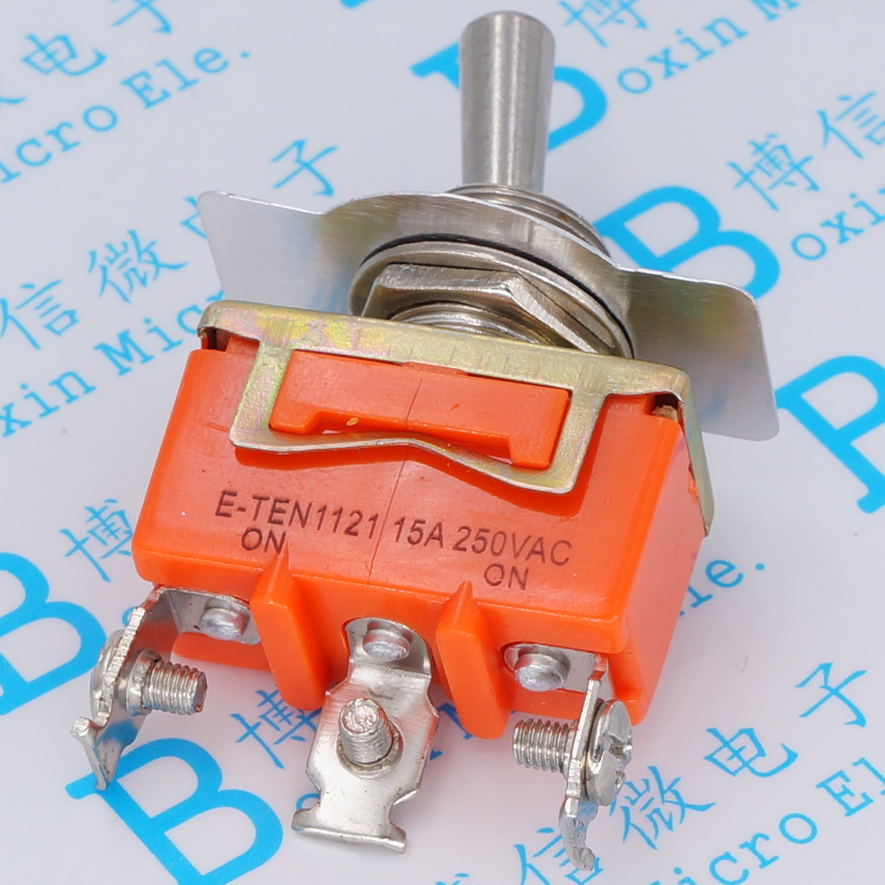 E-TEN1121 Toggle switch ON-ON power switch 3pins 3p 2 gear