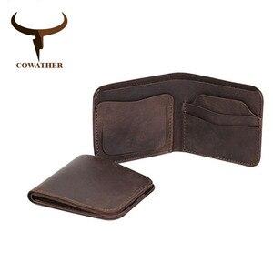 Image 4 - Cinto e carteira conjunto COWATHER para homens top quality bolsa vaca genuína cinta masculina terno dos homens da moda cinto e carteira definir frete grátis