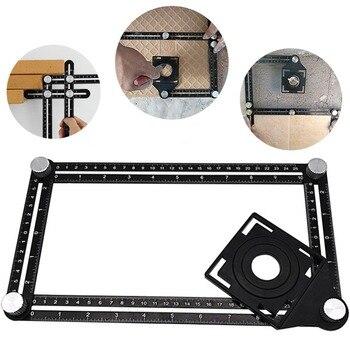 Braxtly araçları kolay ANGLE-ER ağır şablon aracı-Ultimate çok açılı cetvel-açılarını ölçmek için- premium Metal