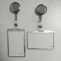 Metal Credit Card Wallet Women Men Bank Card Bag Black Card Case Bus ID Holders Identity