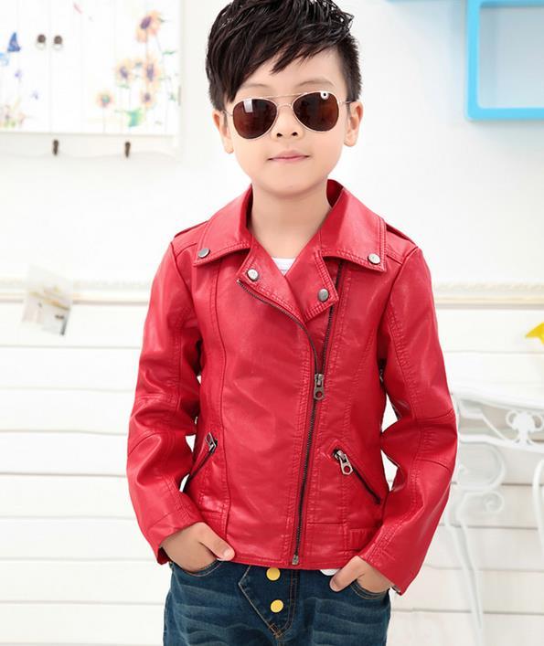 Kids Red Coat Han Coats