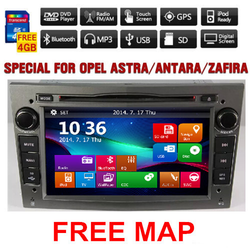 2 din car dvd for opel astra vectra corsa meriva zafira with gps navi bluetooth radio usb sd. Black Bedroom Furniture Sets. Home Design Ideas