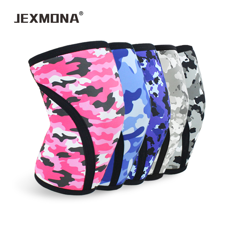 NEW PAIR of Neoprene 7mm Knee Brace Compression Sleeve CrossFit Squat Protection
