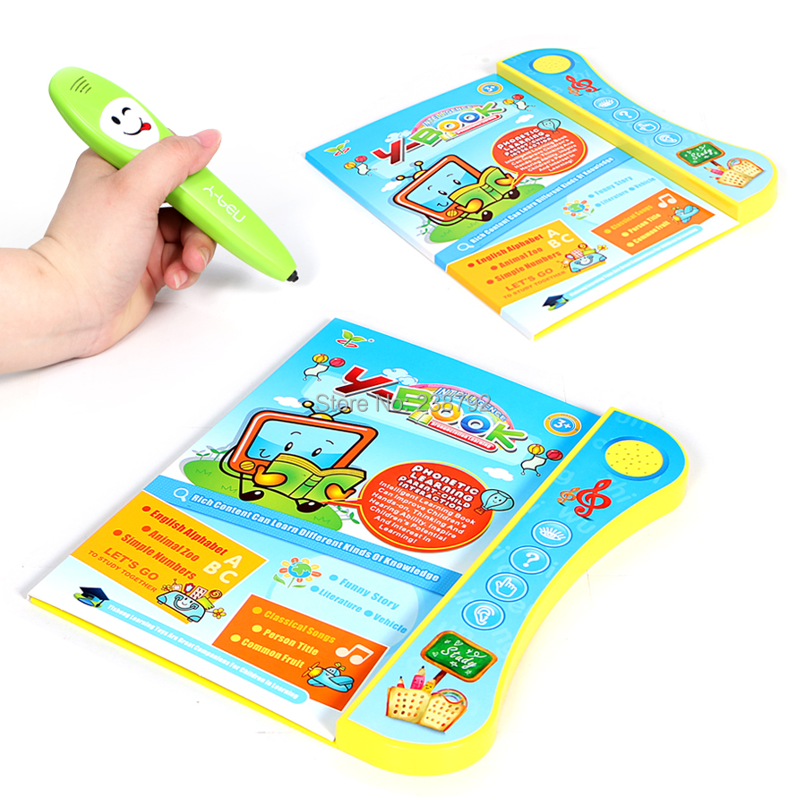 Multi-function English intelligence pronunciation learning learning book toys with smart logic pen Educational toys for kids