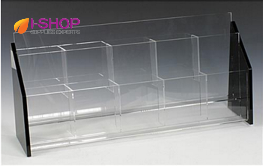 Hot sale in USA customized acrylic holder good use for office, bank TRS10