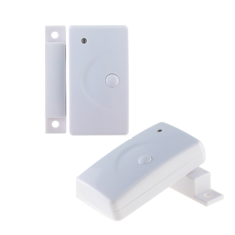2pcs 433mhz EV1527 Door Window Sensor Magnetic Contact for Wireless Home Security Alarm Security Systems high quality hot sale 100db wireless alarm system burglar safely security window door home magnetic sensor best promotion