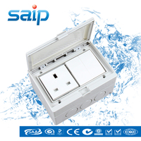 (13A 250V) Waterproof Electric Switch and Socket/Two position Switch with One English style Socket