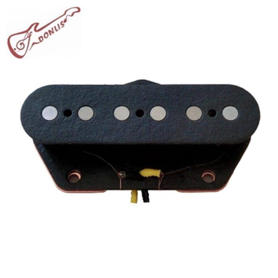 buy donlis electric guitar diy parts black color alnico 5 tl bridge guitar. Black Bedroom Furniture Sets. Home Design Ideas