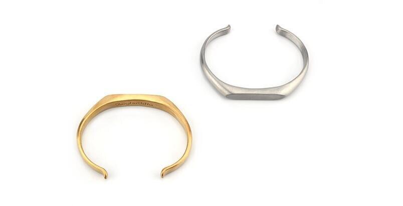 Vintage Stainless Steel Bracelet Men Titanium Steel Heavy Cuff Bangle Bracelets & Bangles Men Jewelry pulseira masculina 8