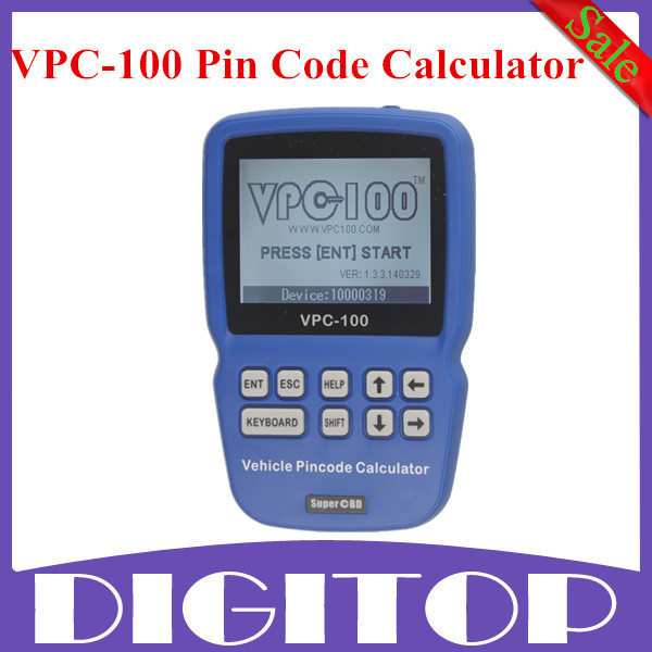 High Quality VPC-100 Pin Code Calculator VPC 100 Hand-Held With 500 Tokens