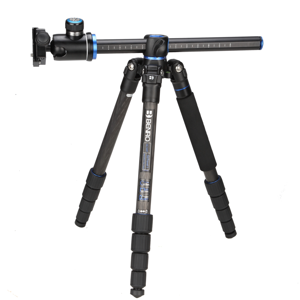 Benro GC169TV1 Carbon Fiber Monopod Tripods For Camera With V1 Ballhead 4 Section Max Loading 14kg DHL Free Shipping