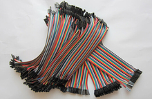 40pin  40pcs Length 20cm Dupont Female to Female Breadboard Jumper Wire Raspberry Pi