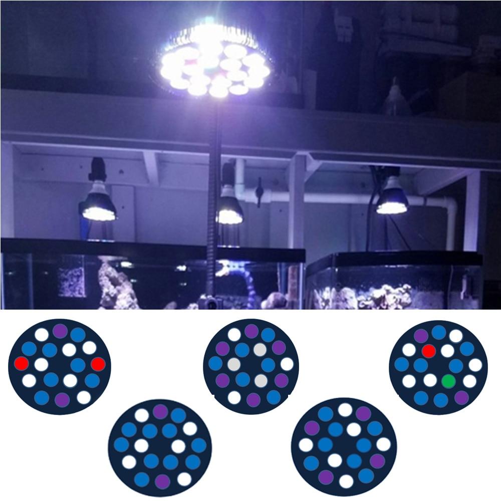 54w full spectrum led aquarium lighting e27 aquarium light. Black Bedroom Furniture Sets. Home Design Ideas