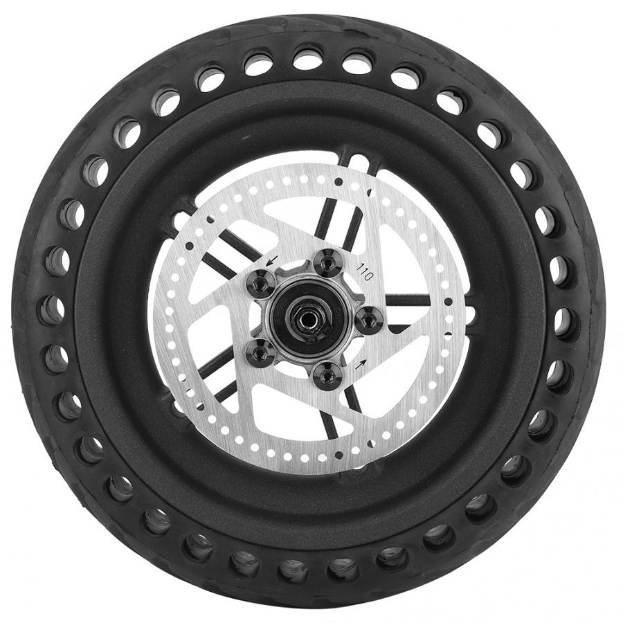 Scooter Rear Tire Wheel Hub Tyre Set Explosion proof shock Rear Tire Disc Brake Disc for