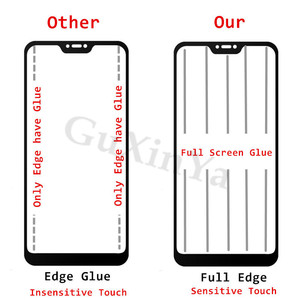 Image 4 - Screen Protector For Xiaomi Redmi Note 6 Pro Full Glue Glass Tempered Glass For Xiaomi Redmi Note 6 Pro Glass Redmi Note 6 pro