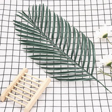 Simulation Leaves of Iron Persian Grass Leaves Artificial Green Fake Plant Flower Home Garden Living Room Decoration