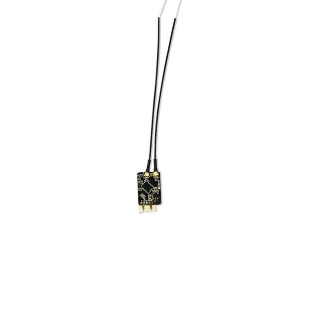 R-XSR FrSky Ultra SBUS/CPPM commutable D16 16CH Mini récepteur de redondance RX 1.5g pour les modèles de drones TX transmetteur RC