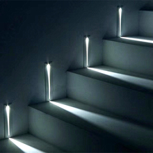Luminária led embutida de 3w para escada, ip20 para áreas internas e externas, ip65, para parede de canto, escada, caminho, caminhão, lâmpada para escada