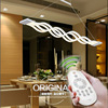 New Creative Modern LED Pendant Lamp Dining Room Living Room Pendant Light 110V 220V Free Shipping